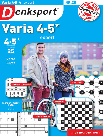 Denksport Varia expert 4-5* February 27, 2020 00:00