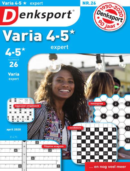 Denksport Varia expert 4-5* April 02, 2020 00:00
