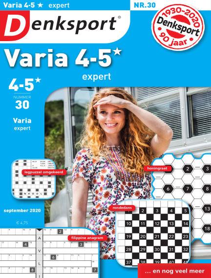 Denksport Varia expert 4-5* August 20, 2020 00:00