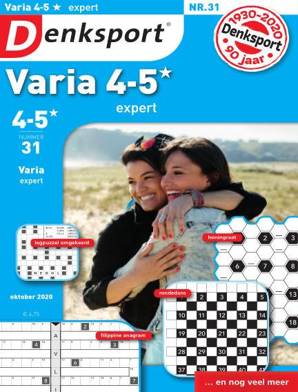 Denksport Varia expert 4-5* September 24, 2020 00:00