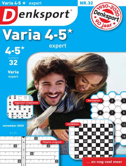 Denksport Varia expert 4-5* October 29, 2020 00:00