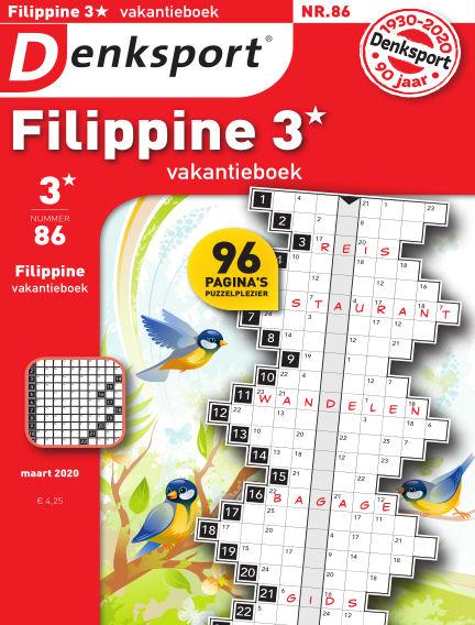 Denksport Filippine 3* Vakantieboek March 12, 2020 00:00