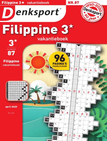 Denksport Filippine 3* Vakantieboek April 09, 2020 00:00