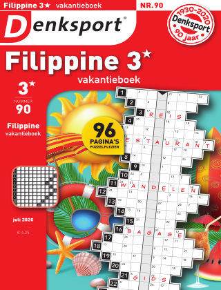 Denksport Filippine 3* Vakantieboek 090