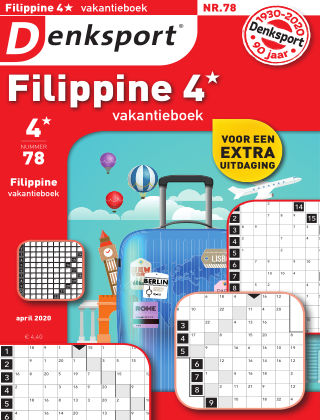 Denksport Filippine 4* Vakantieboek 078
