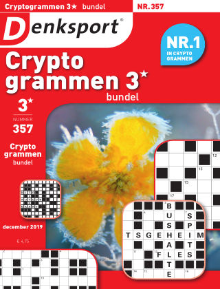 Denksport Cryptogrammen 3* bundel 357