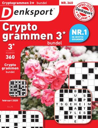 Denksport Cryptogrammen 3* bundel 360