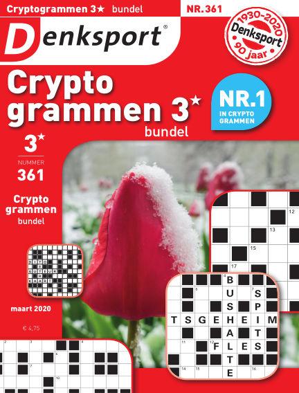 Denksport Cryptogrammen 3* bundel February 27, 2020 00:00