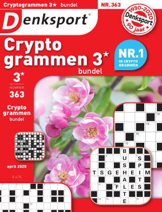 Denksport Cryptogrammen 3* bundel 363
