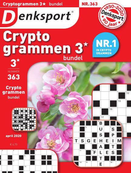 Denksport Cryptogrammen 3* bundel April 09, 2020 00:00