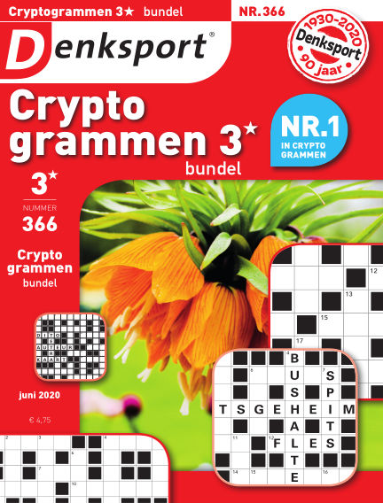 Denksport Cryptogrammen 3* bundel June 11, 2020 00:00