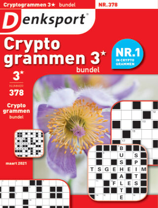 Denksport Cryptogrammen 3* bundel 378