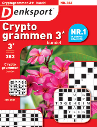 Denksport Cryptogrammen 3* bundel 383