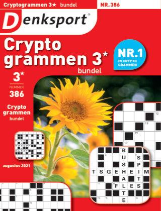 Denksport Cryptogrammen 3* bundel 386