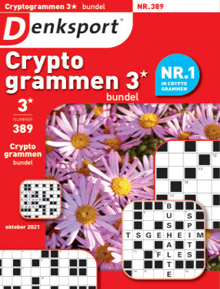 Denksport Cryptogrammen 3* bundel 389