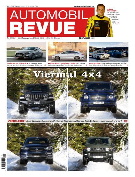 Automobil Revue January 26, 2019 00:00