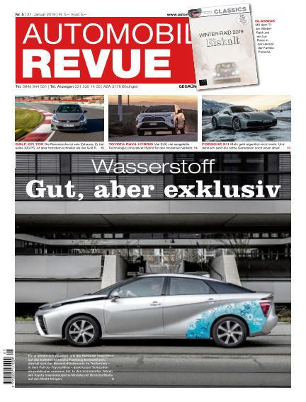 Automobil Revue January 31, 2019 00:00