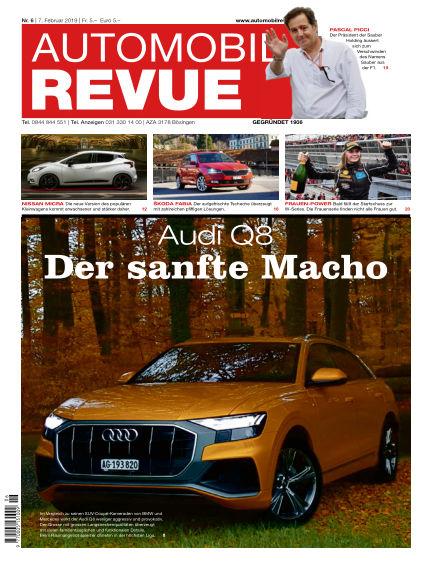 Automobil Revue February 07, 2019 00:00