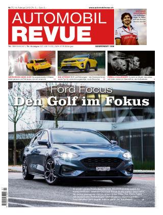 AUTOMOBIL REVUE Nr. 7/2019