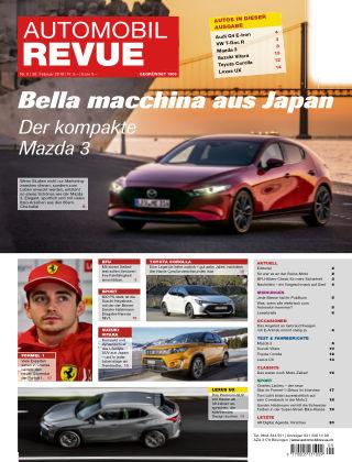 Automobil Revue Nr 9/2019