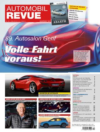 Automobil Revue Nr 10/2019
