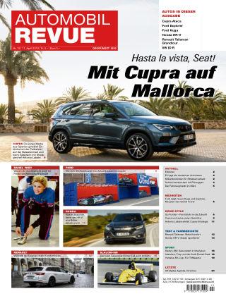 AUTOMOBIL REVUE Nr 15/2019