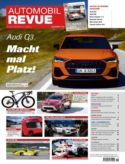 Automobil Revue May 02, 2019 00:00