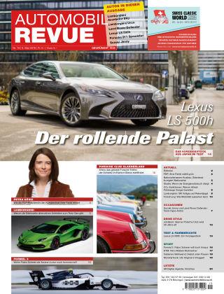 AUTOMOBIL REVUE Nr 19/2019
