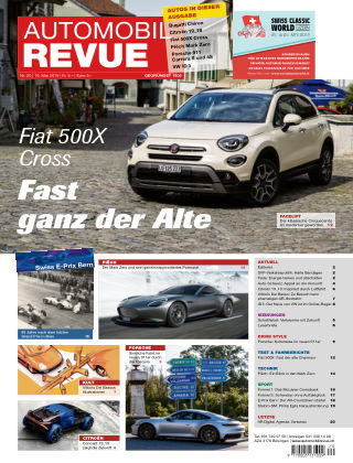 AUTOMOBIL REVUE Nr 20/2019