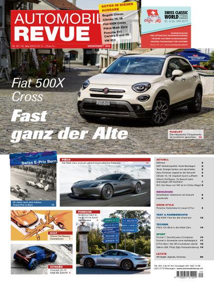 Automobil Revue May 16, 2019 00:00