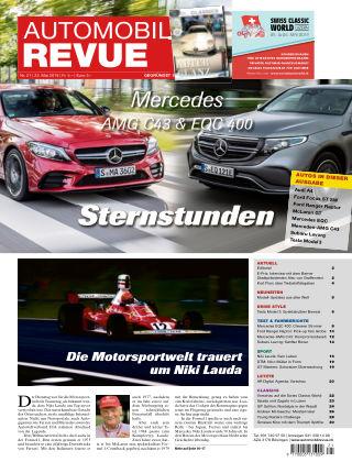 Automobil Revue Nr 21/2019