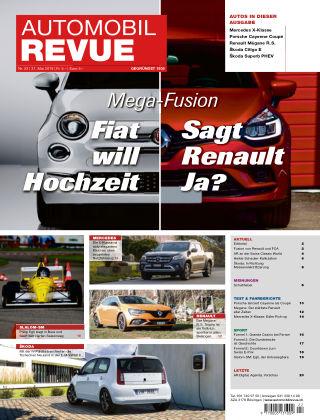 AUTOMOBIL REVUE Nr 22/2019