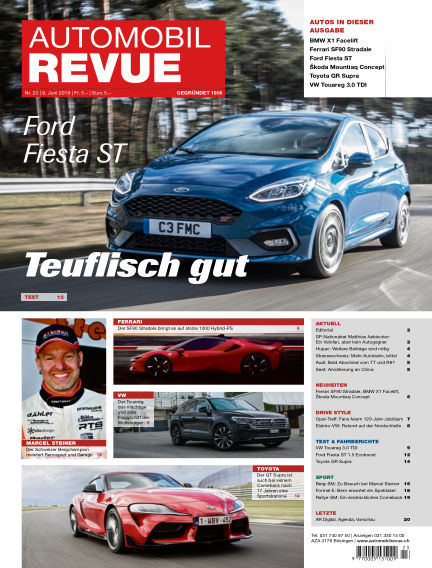 Automobil Revue June 06, 2019 00:00