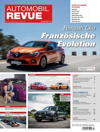 AUTOMOBIL REVUE Nr 27/2019
