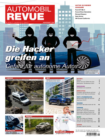 Automobil Revue July 11, 2019 00:00