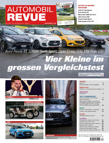 Automobil Revue July 25, 2019 00:00