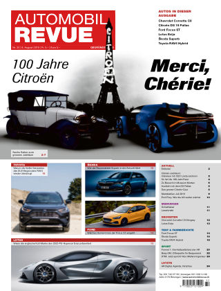 AUTOMOBIL REVUE Nr 32/2019
