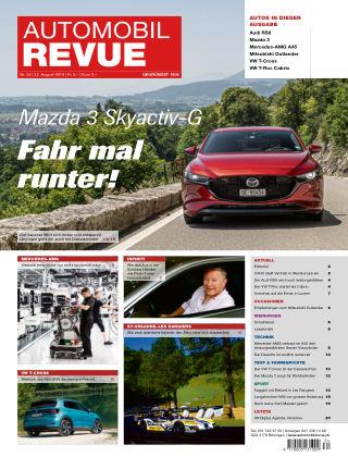Automobil Revue Nr 34/2019