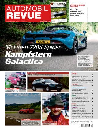 AUTOMOBIL REVUE Nr 35/2019