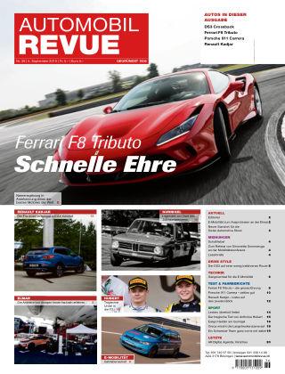 AUTOMOBIL REVUE Nr 36/2019