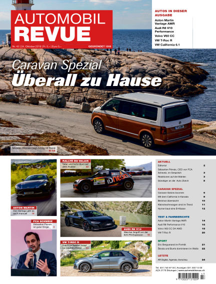 Automobil Revue October 24, 2019 00:00