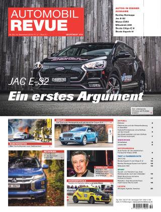 AUTOMOBIL REVUE Nr 50/2019