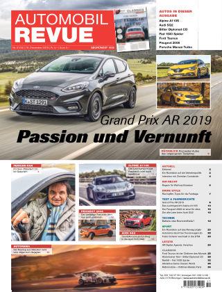 AUTOMOBIL REVUE Nr 51/52/2019