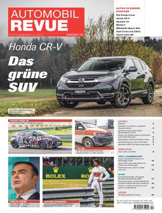 AUTOMOBIL REVUE Nr 01/02/2020
