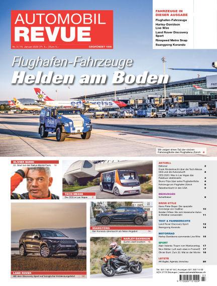 Automobil Revue January 16, 2020 00:00