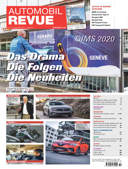 Automobil Revue March 05, 2020 00:00