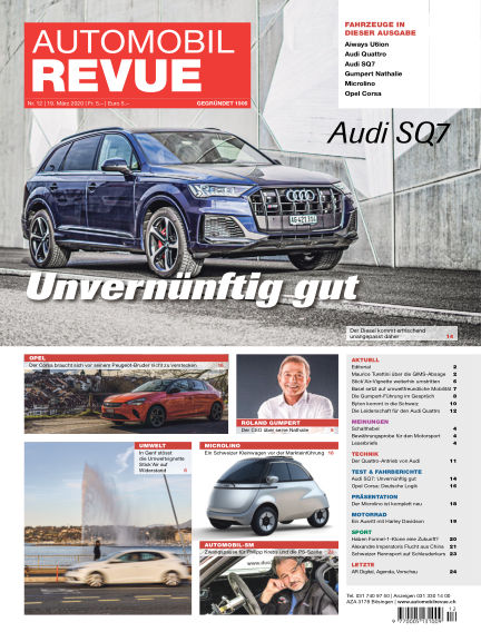 Automobil Revue March 19, 2020 00:00