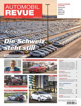 AUTOMOBIL REVUE Nr 13/2020