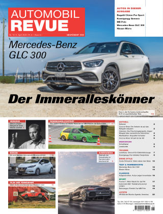 AUTOMOBIL REVUE Nr 15/2020