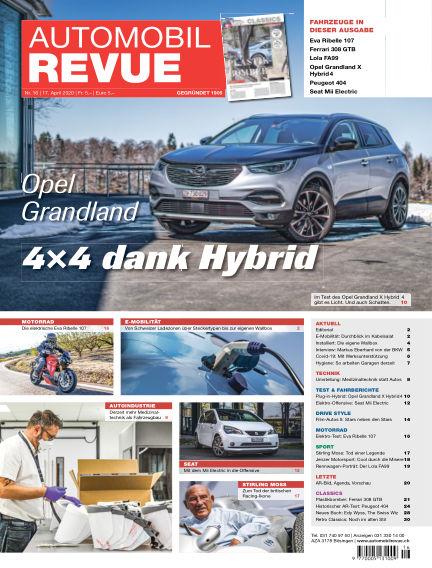 Automobil Revue April 17, 2020 00:00